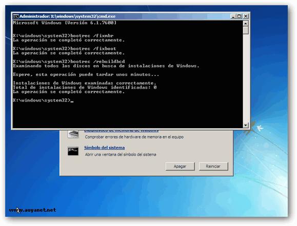 Reparar windows xp sin formatear fixmbr fixboot youtube.